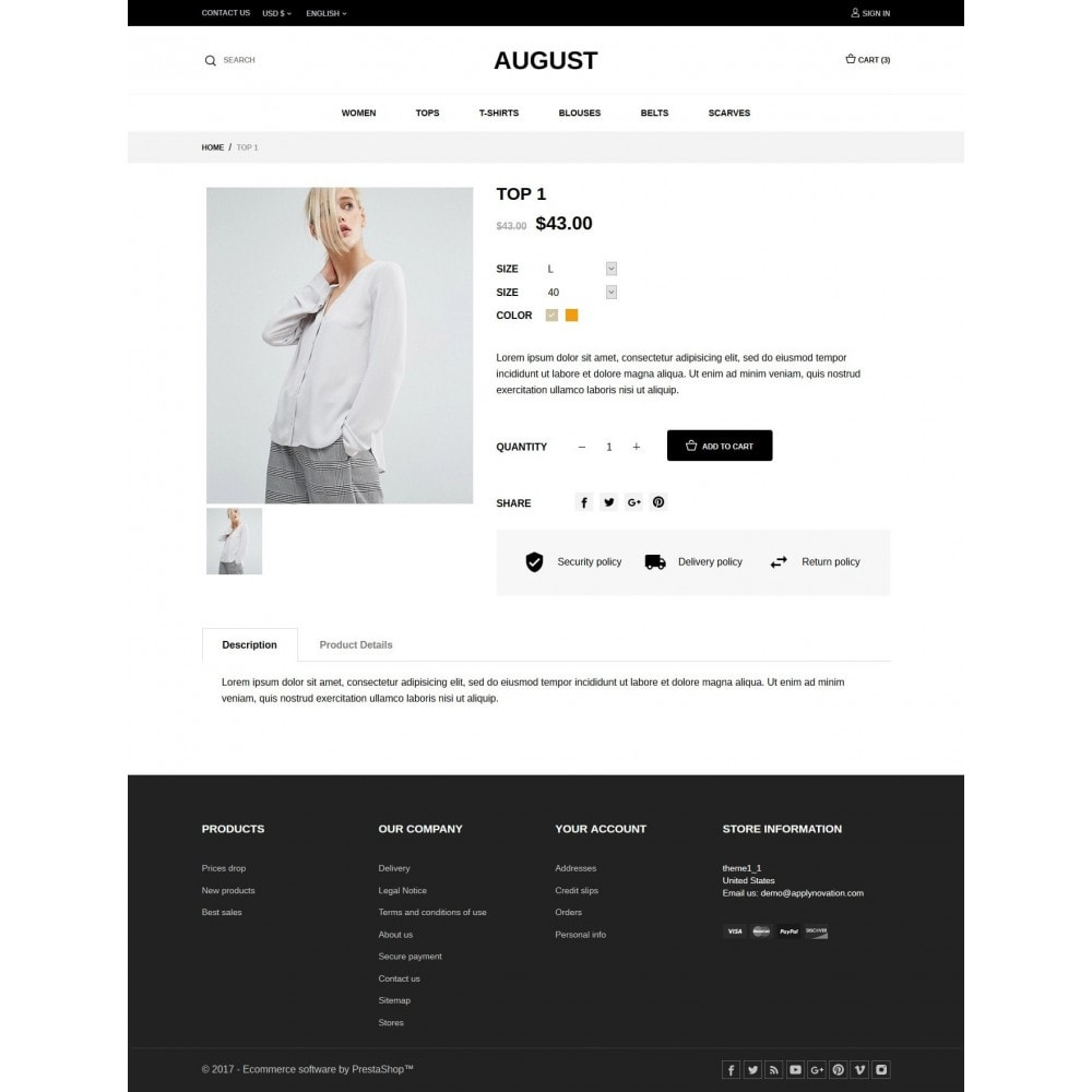 theme - Mode & Schuhe - August Fashion Store - 6