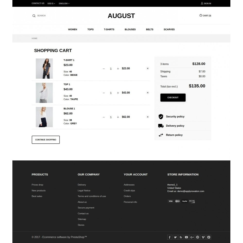 theme - Mode & Schuhe - August Fashion Store - 7