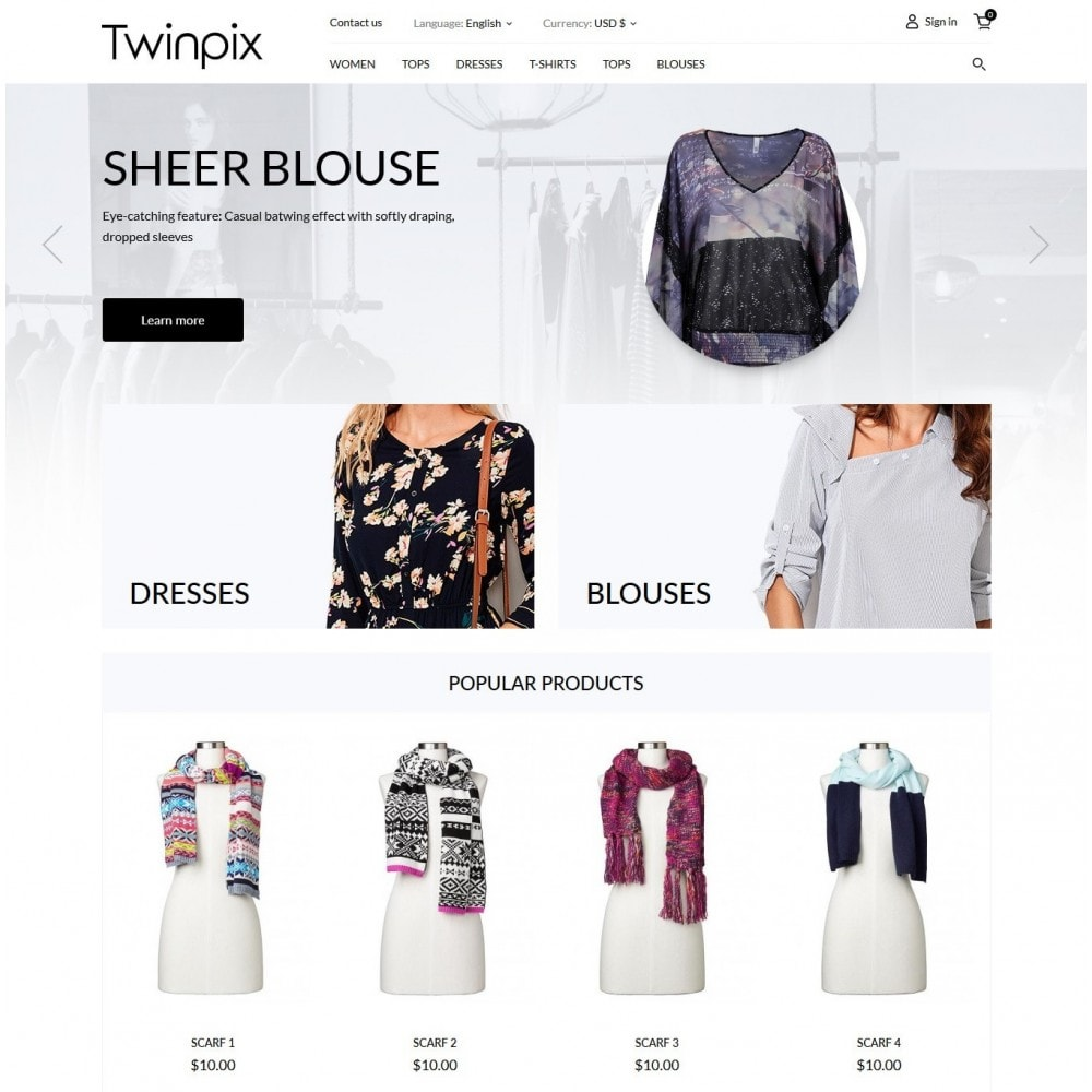 Twinpix Fashion Store