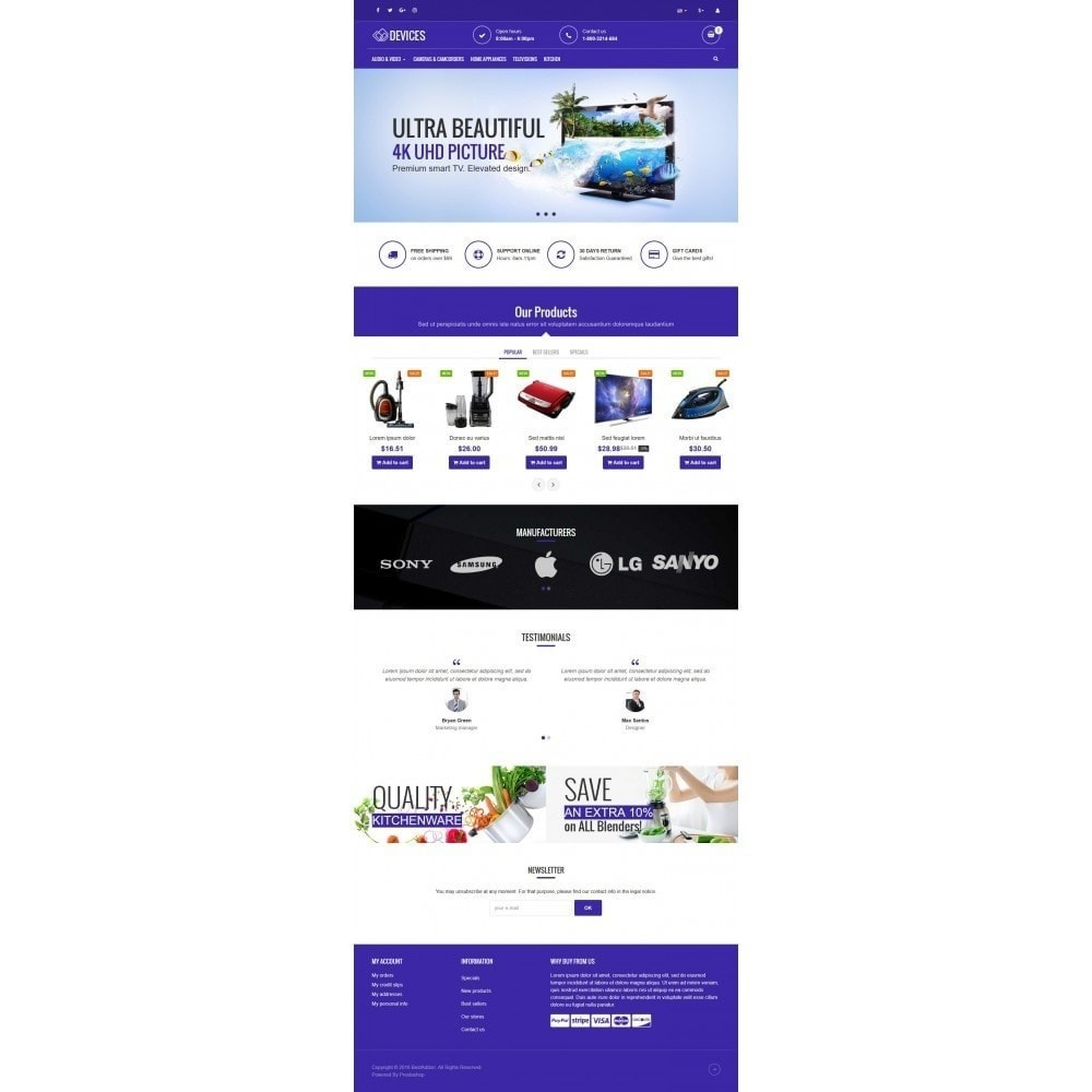 theme - Elettronica & High Tech - VP_Devices Store - 2