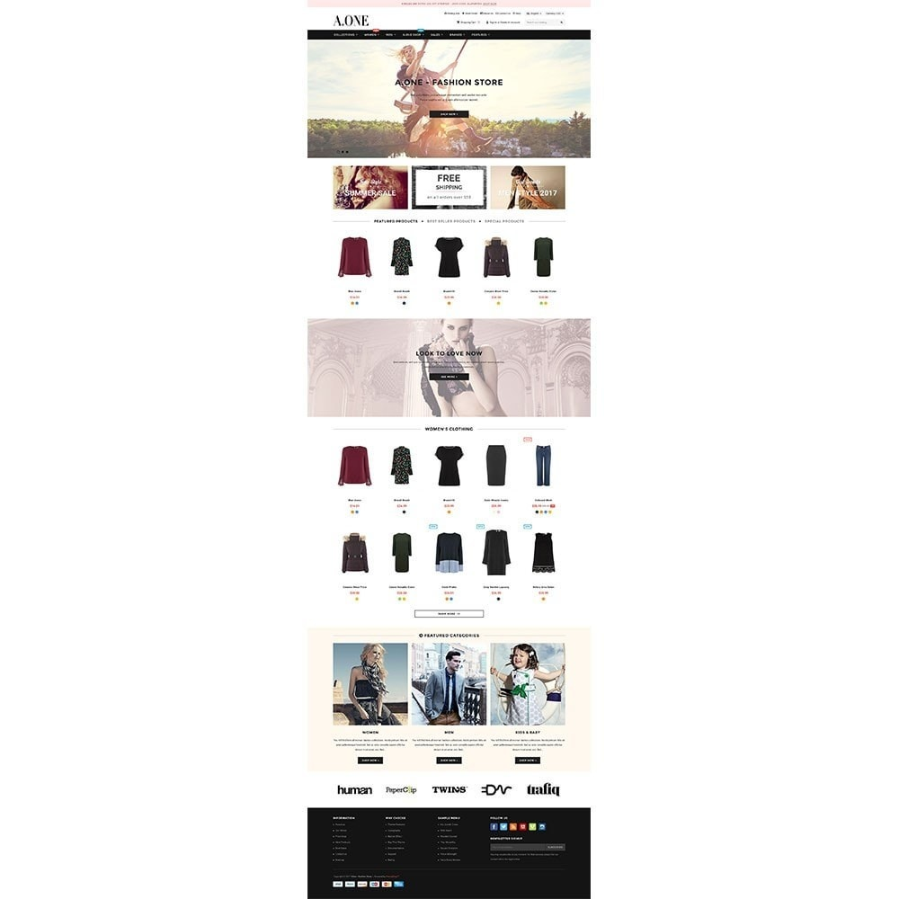 theme - Mode & Schuhe - AOne - Fashion Store - 2