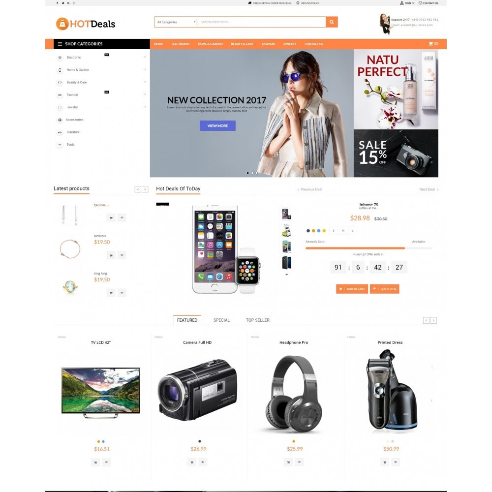 theme - Elettronica & High Tech - HotDeals Market - 2