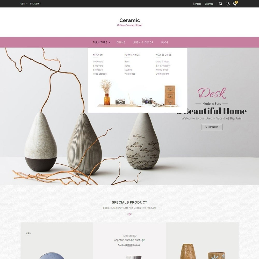 theme - Home & Garden - Ceramic Store - 8
