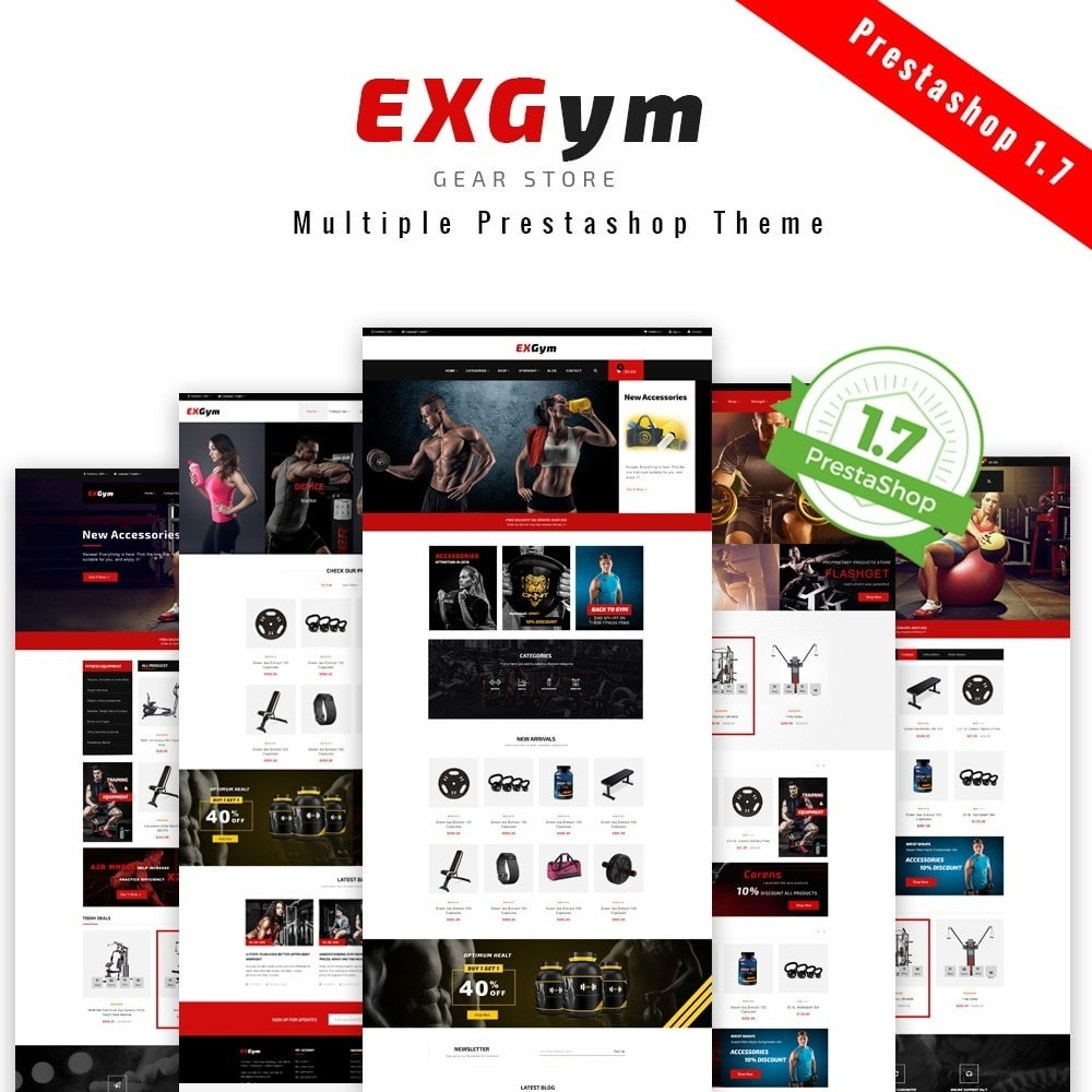 theme - Deportes, Actividades y Viajes - Leo Exgym - 1