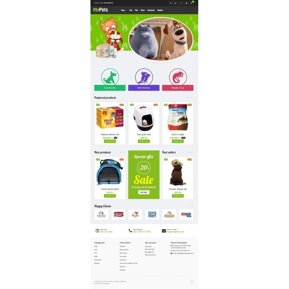 theme - Animaux - VP_MyPets Store - 2