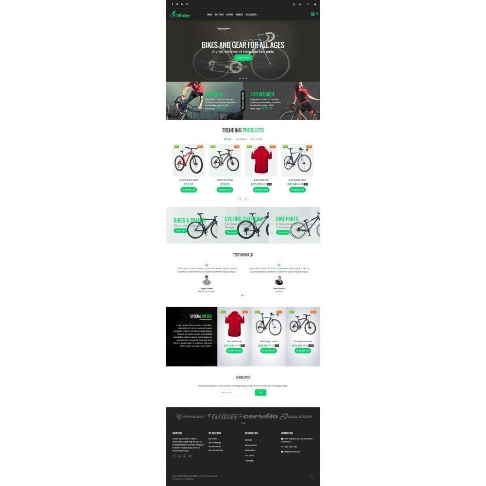 theme - Deportes, Actividades y Viajes - VP_Rider Store - 2