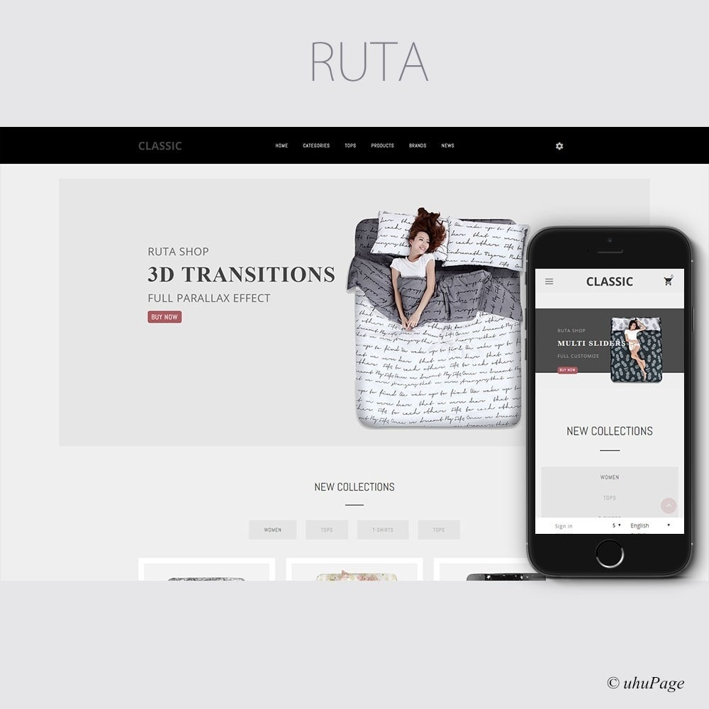 theme - Mode & Chaussures - Ruta Fashion Store - 1