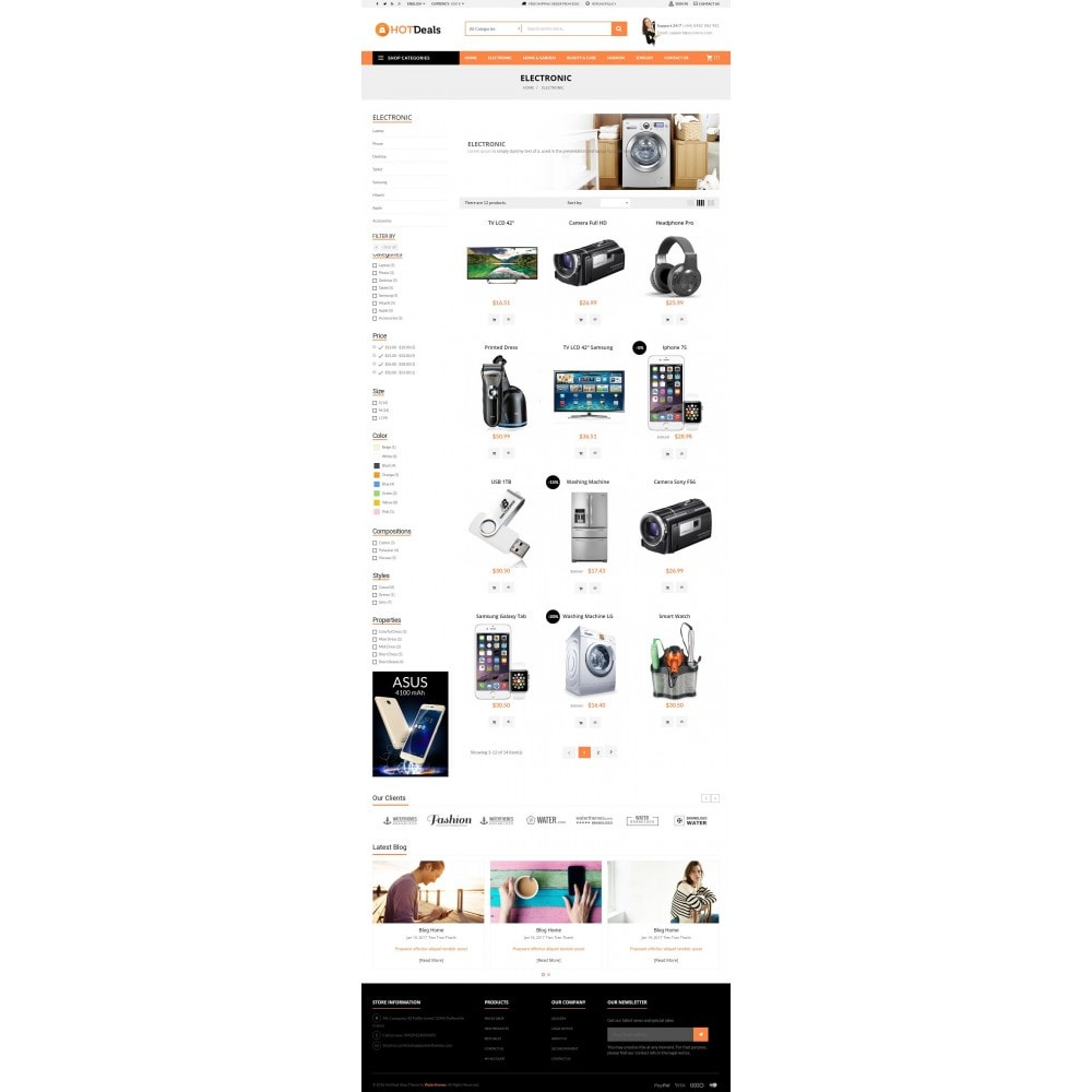 theme - Elettronica & High Tech - HotDeals Market - 5