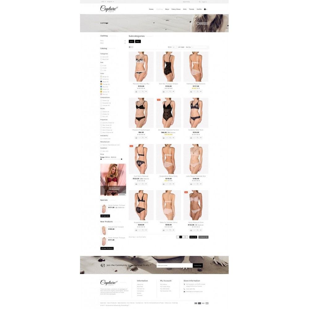 theme - Lenceria y Adultos - Capture Lingerie Online Store - 3