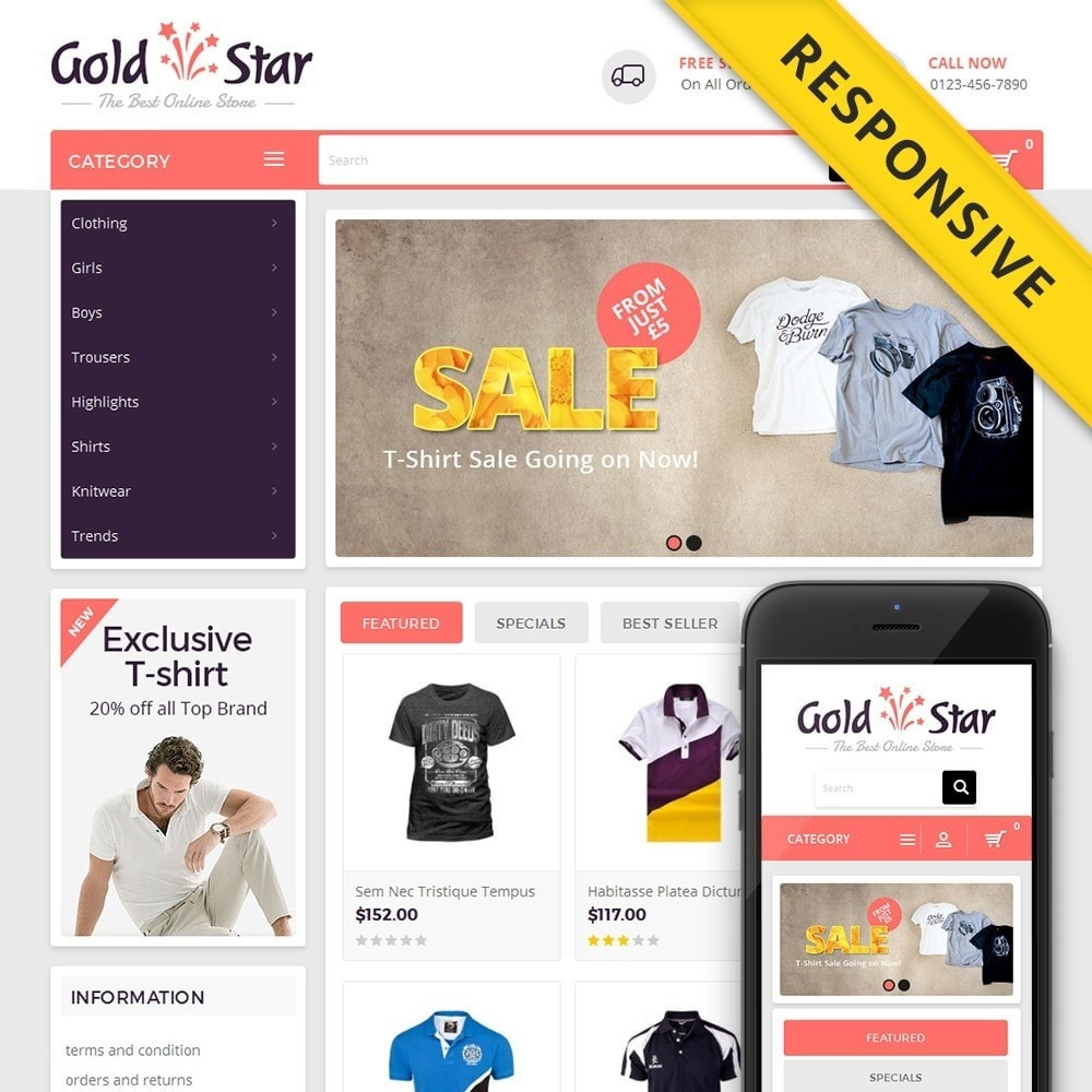Gold Star T-Shirt Store