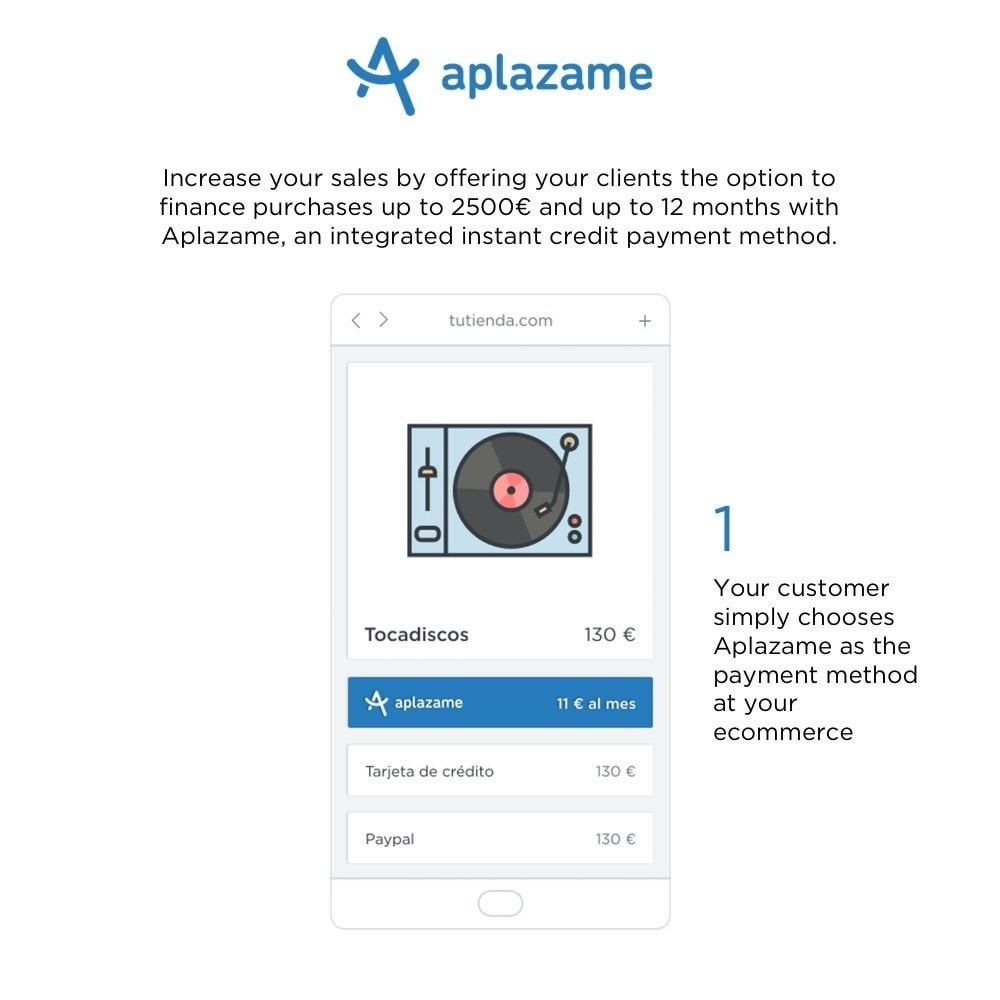 module - Other Payment Methods - Aplazame - 1