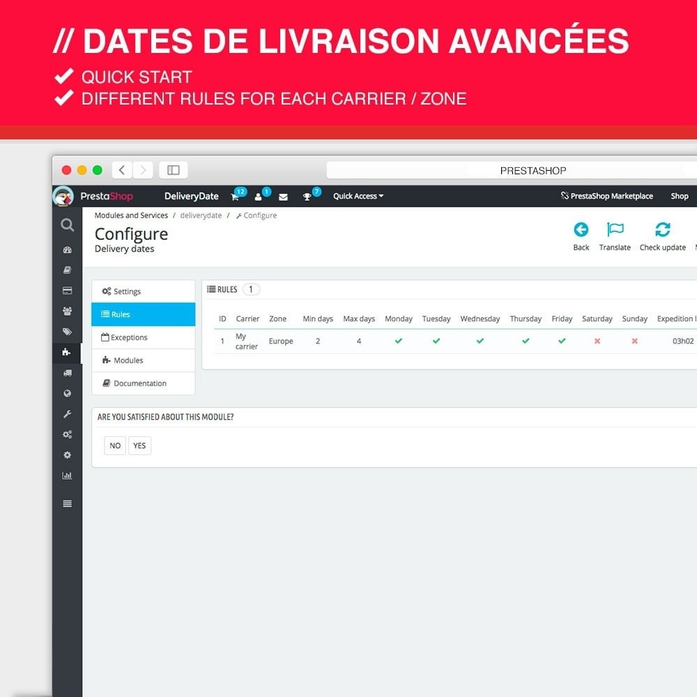 module - Leverdatum - Advanced delivery dates - 3