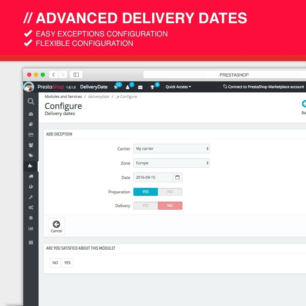 module - Leverdatum - Advanced delivery dates - 6