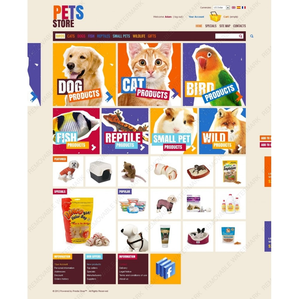 theme - Zwierzęta - Cute Pets Products - 6