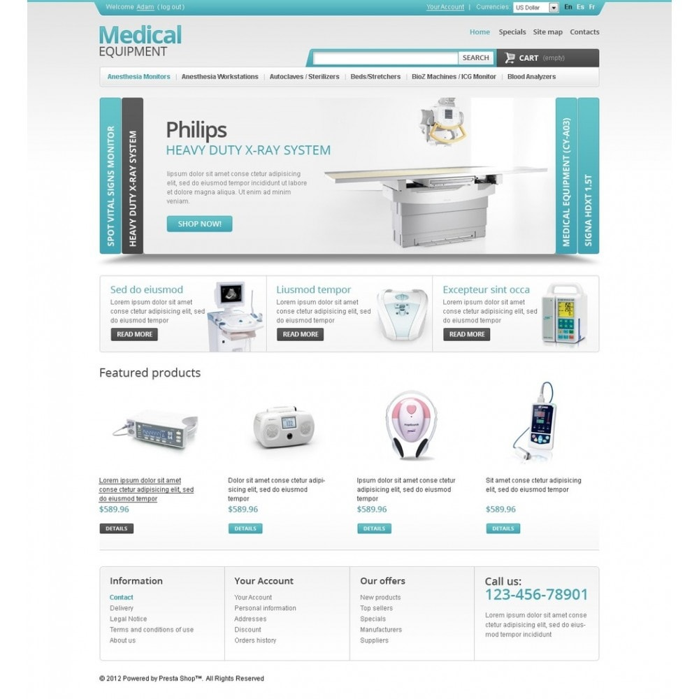 theme - Santé & Beauté - Medical Equipment Store - 4