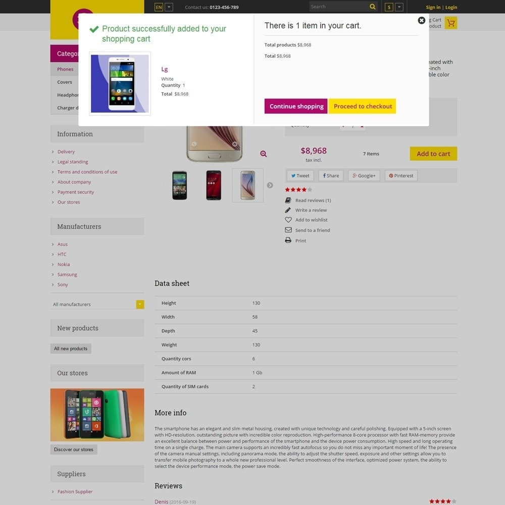 theme - Elettronica & High Tech - Estore Gadget Store - 5