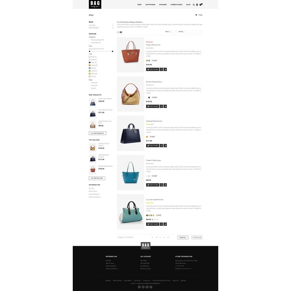 theme - Мода и обувь - Leather Bag Store - 4