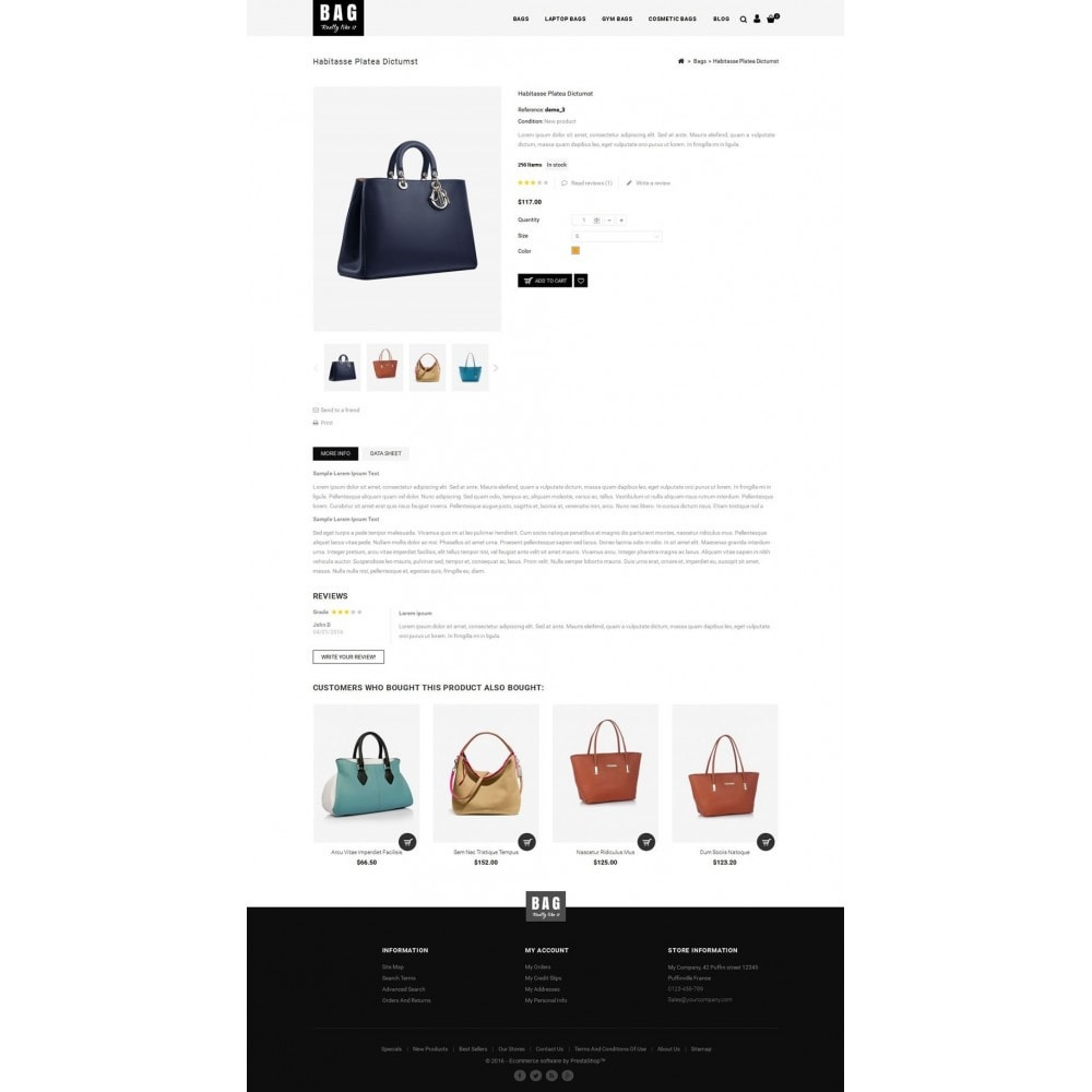 theme - Moda & Obuwie - Leather Bag Store - 5