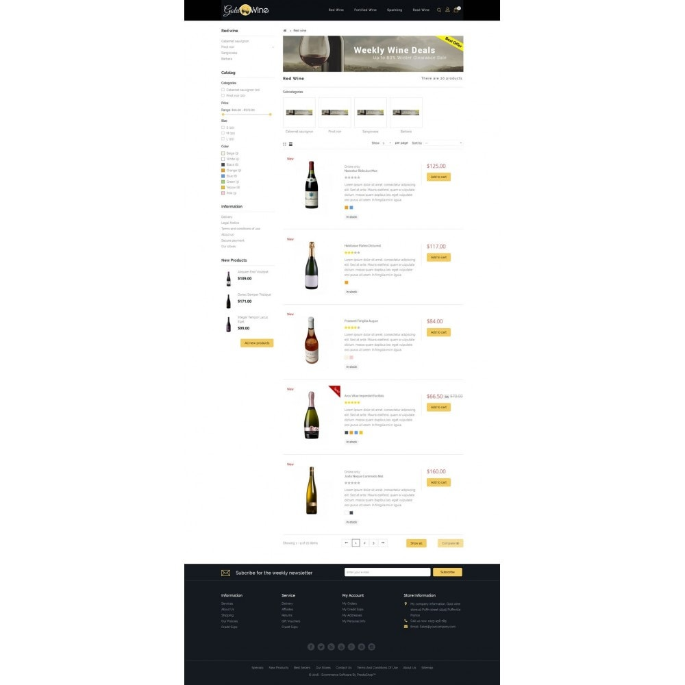 theme - Drank & Tabak - Gold Wine Store - 4