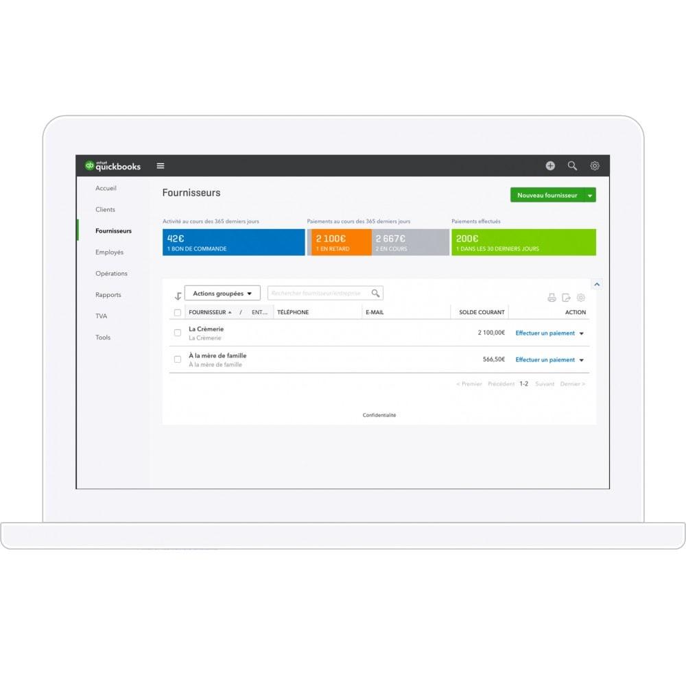 module - Comptabilité & Facturation - QuickBooks- La solution de gestion n°1 mondiale pour les entrepreneurs et leur expert-comptable - 5