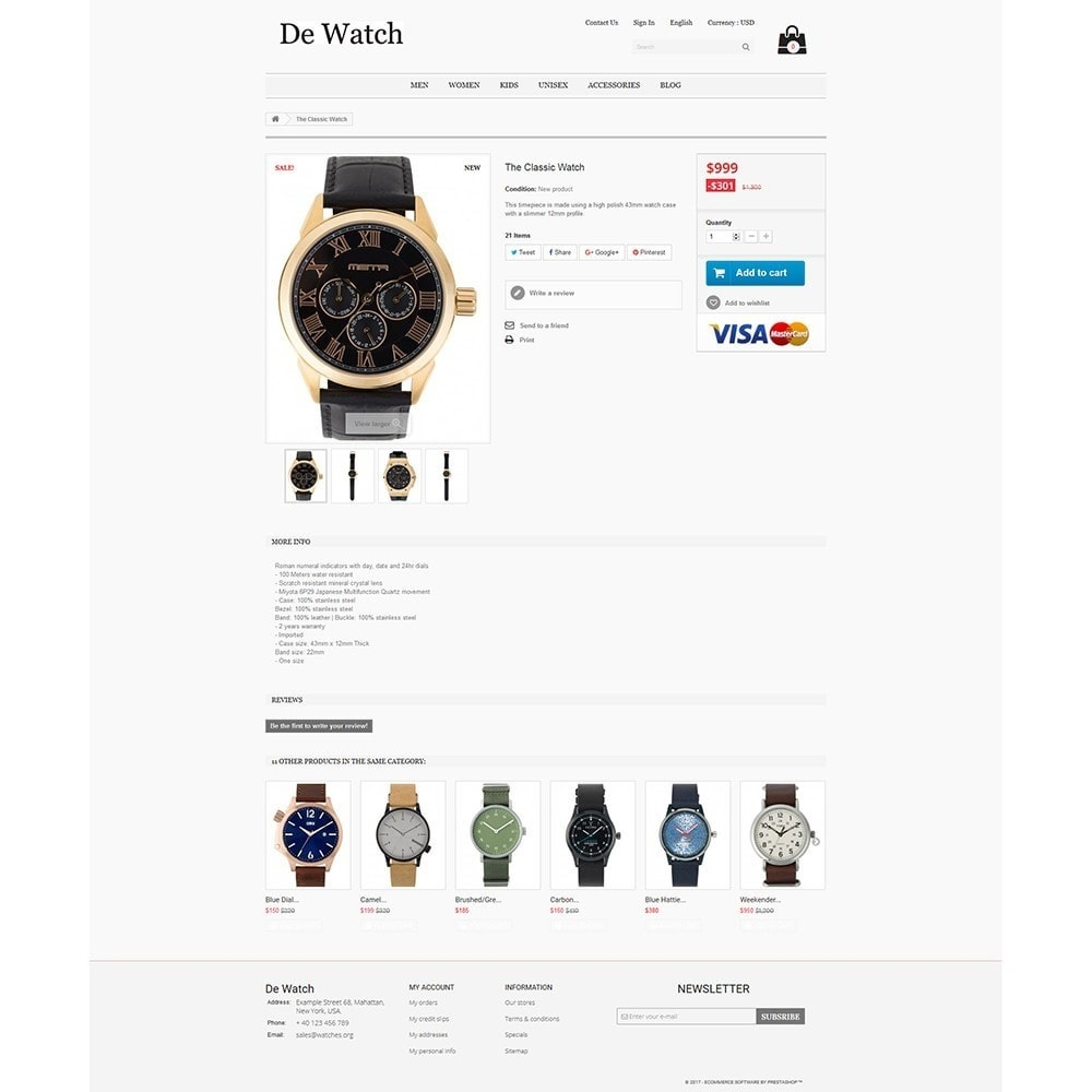 theme - Joalheria & Acessórios - De Watche - Watches and Accessories Store. - 4