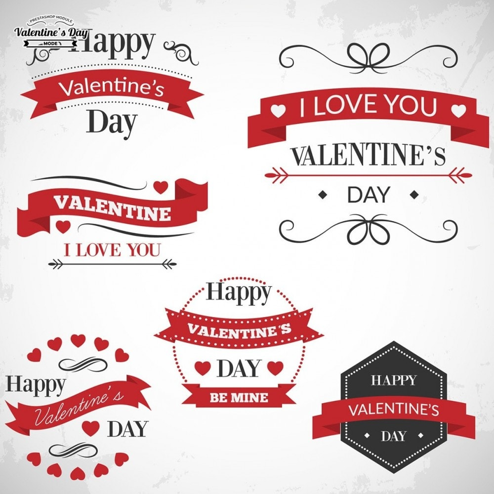 module - Slider & Gallerie - Valentines Day Mode with Graphics included - 13