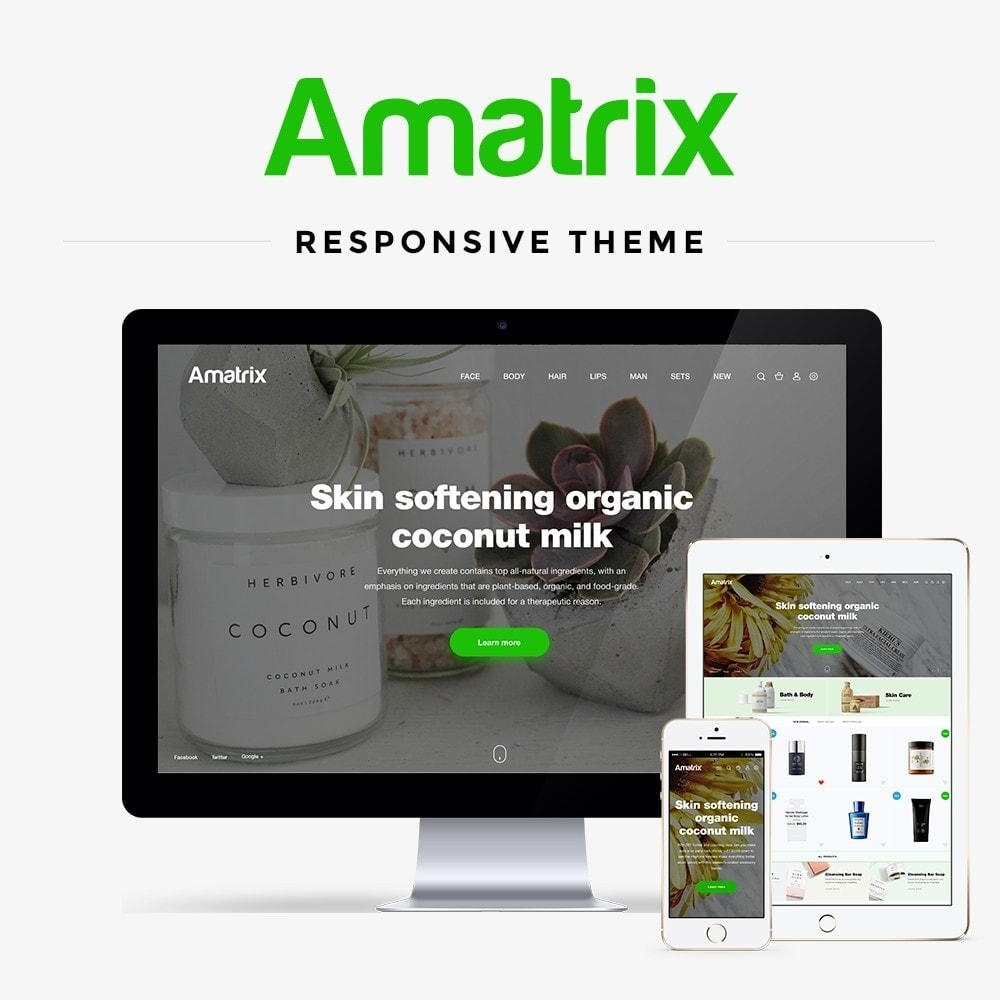 theme - Health & Beauty - Amatrix Cosmetics - 1
