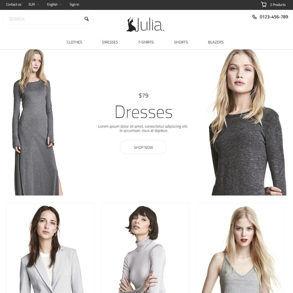 Julia Fashion Store