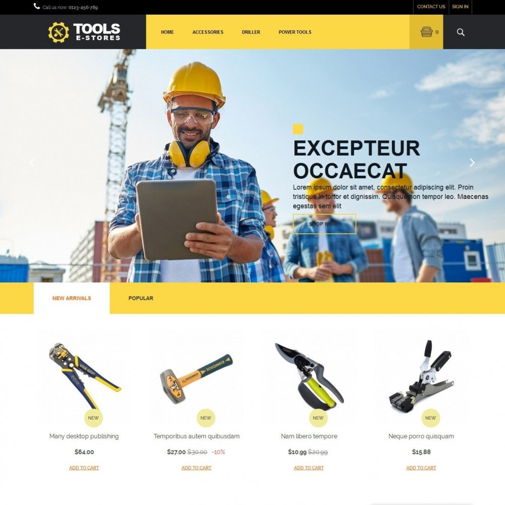 theme - Coches y Motos - toolstore - 1