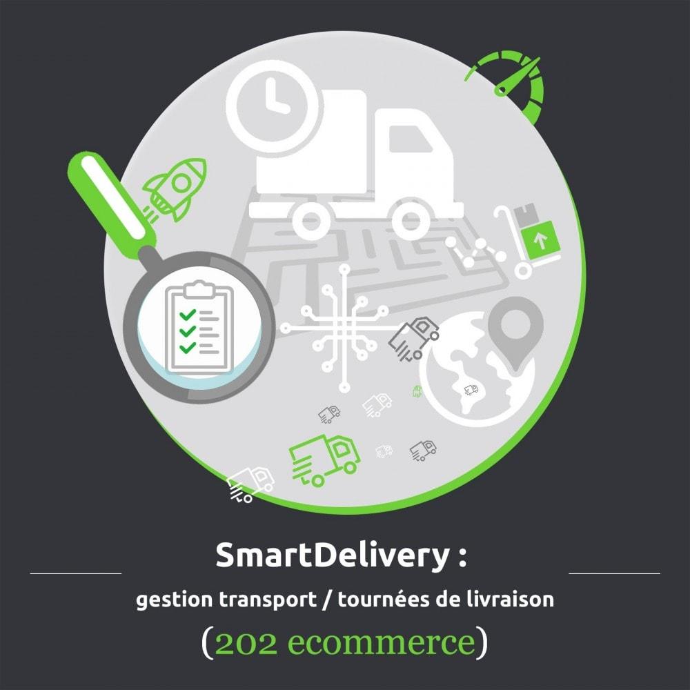 module - Transporteurs - SmartDelivery : gestion transport/tournées de livraison - 1