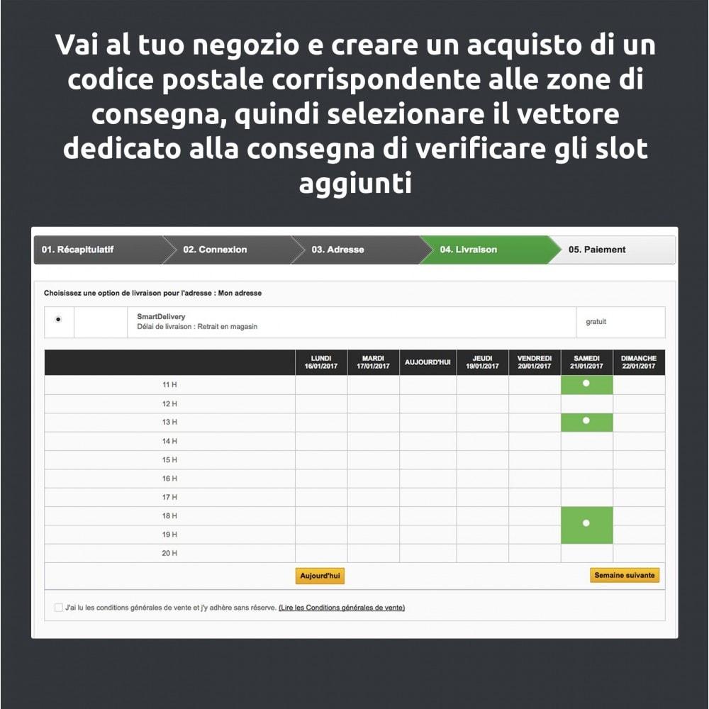 module - Corrieri - SmartDelivery: gestione dei trasporti/giri di consegna - 9