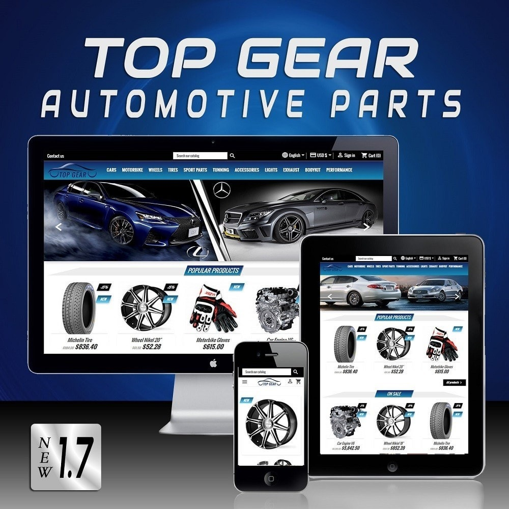 Top Gear - Automotive Parts