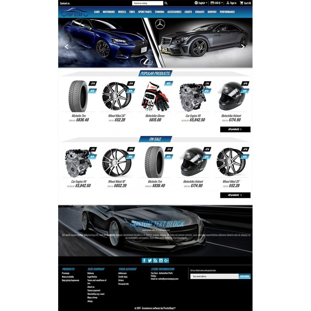 theme - Coches y Motos - Top Gear - Automotive Parts - 2