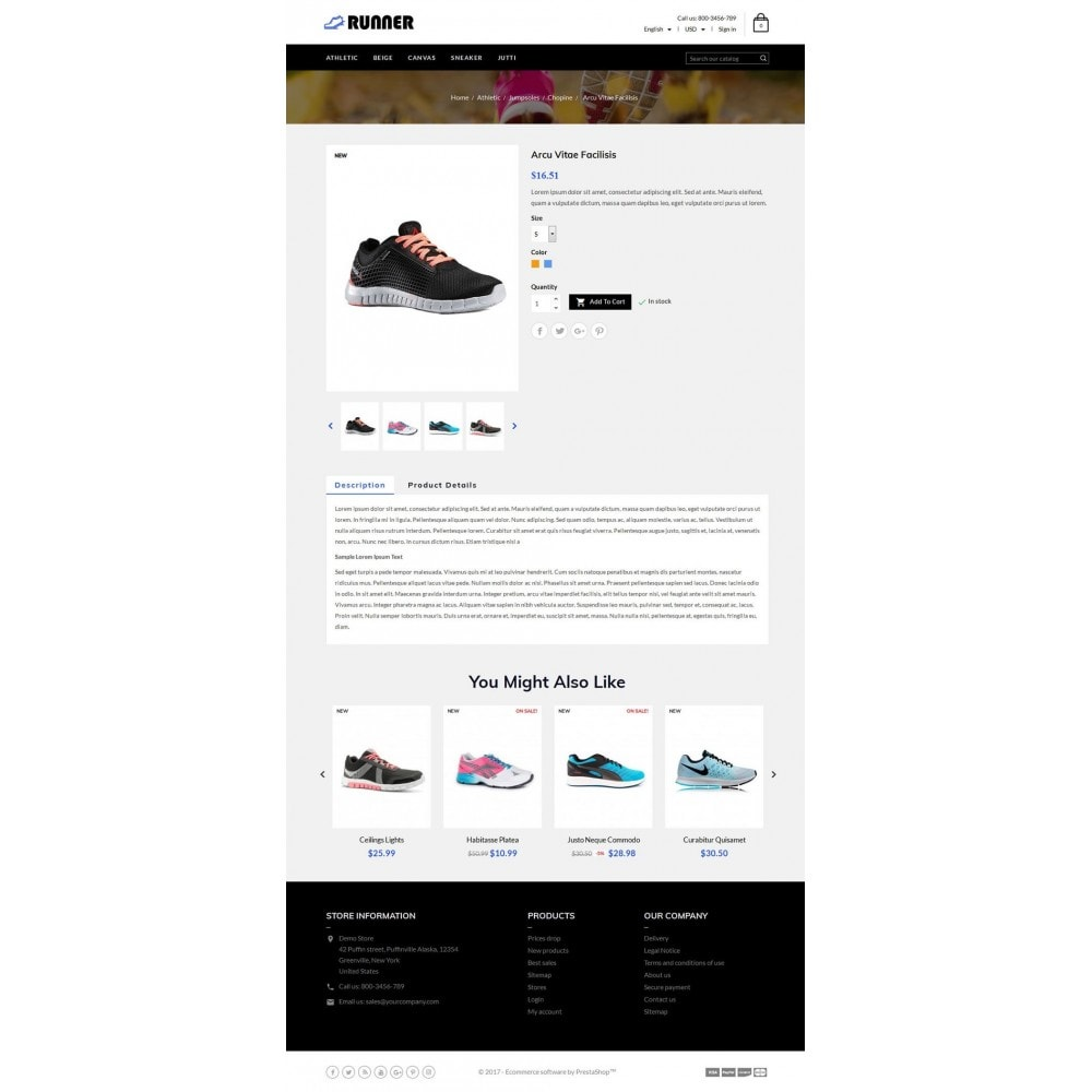 theme - Мода и обувь - Runner Shoes Store - 5