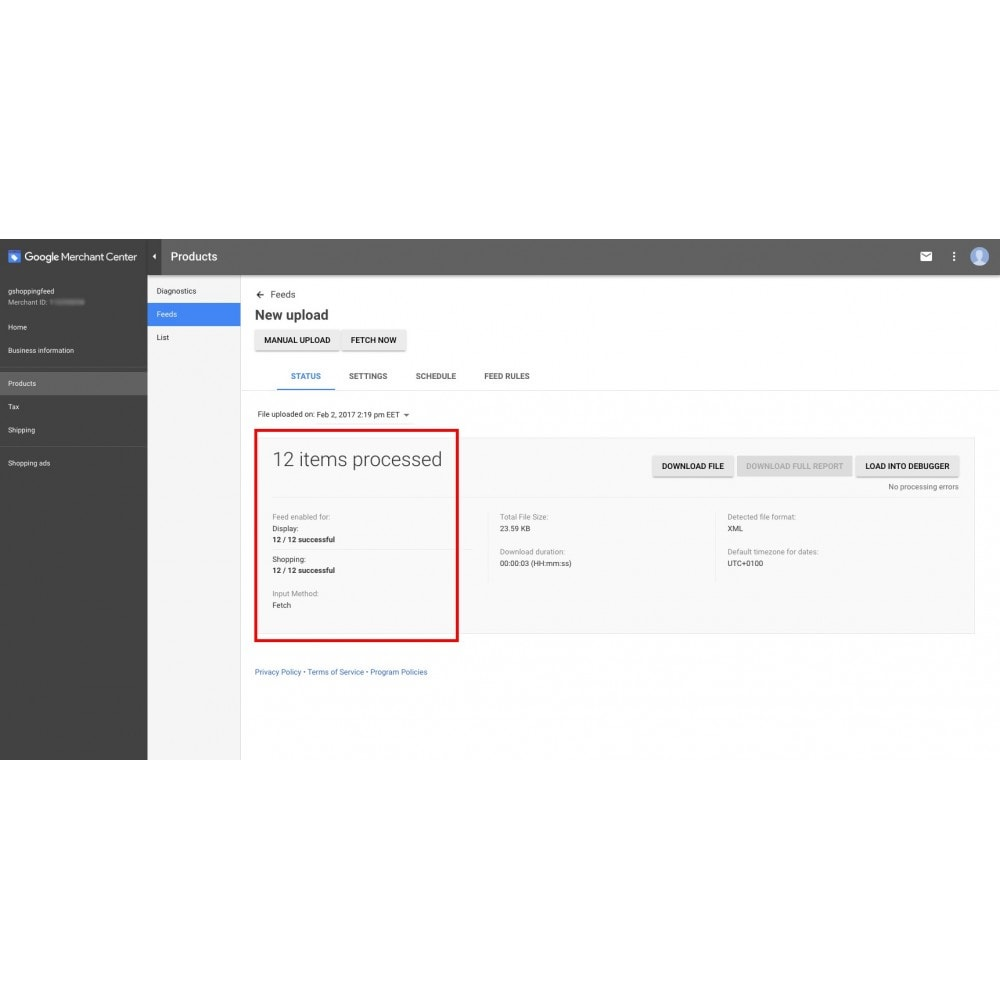 module - Porównywarki cen - Google Shopping Feed - 10