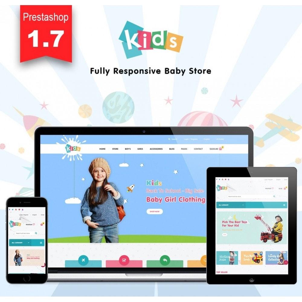theme - Crianças & Brinquedos - JMS Kids II - 1