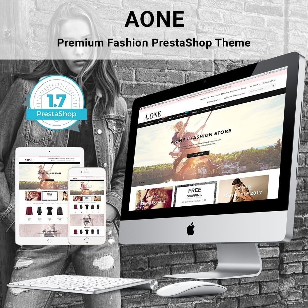 theme - Мода и обувь - AOne - Fashion Store - 1