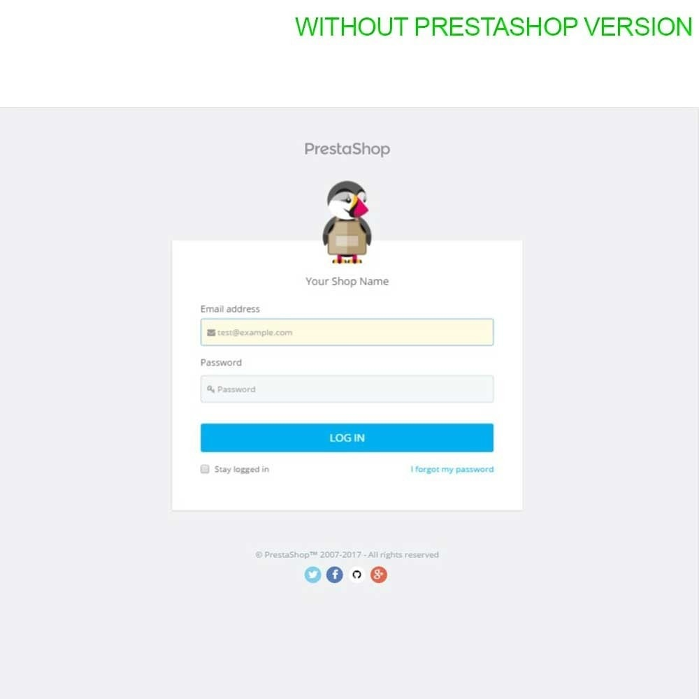 module - Administrationstools - Admin Login Page Customization - 6