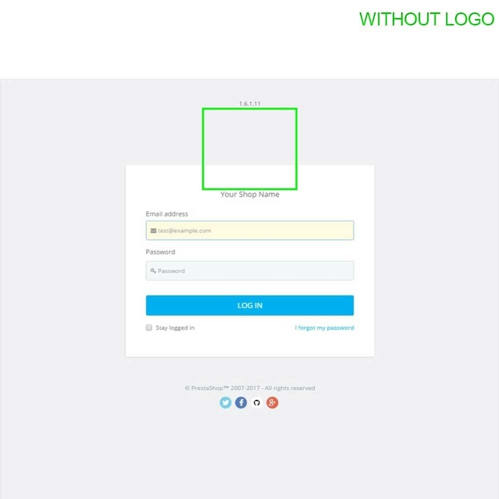 module - Amministrazione - Admin Login Page Customization - 12