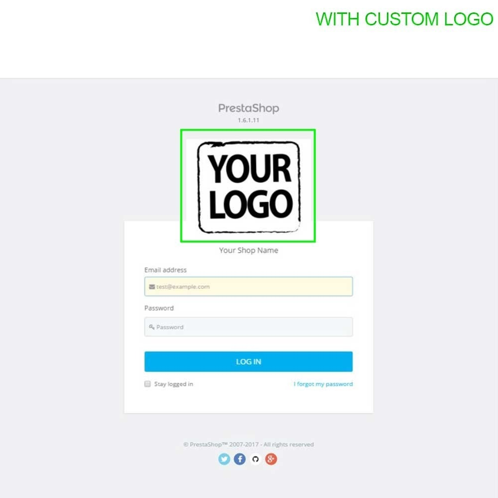 module - Administrative Tools - Admin Login Page Customization - 14