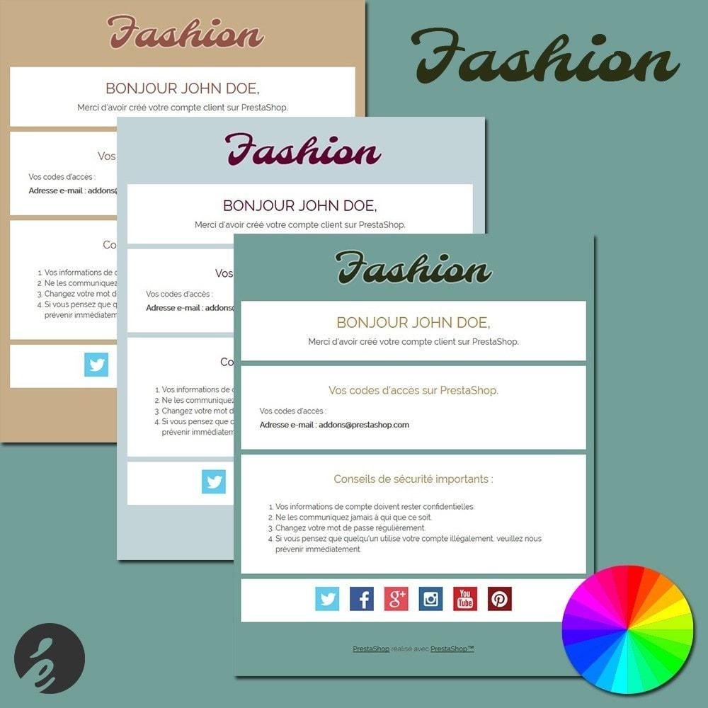 email - Templates d'e-mails PrestaShop - Fashion - 1
