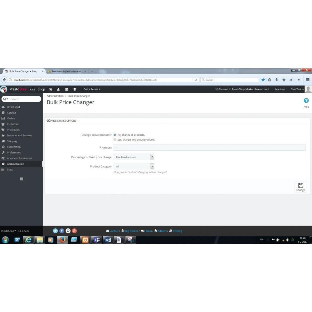 module - Zarządzanie cenami - Bulk / Mass fast Price change - 1