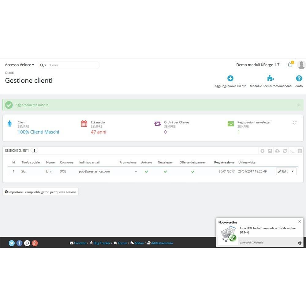 module - Email & Notifiche - Notifiche desktop ordini - 1