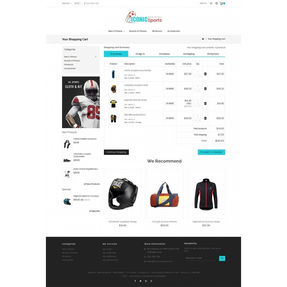 theme - Sports, Activities & Travel - Iconic Sports Store - 6