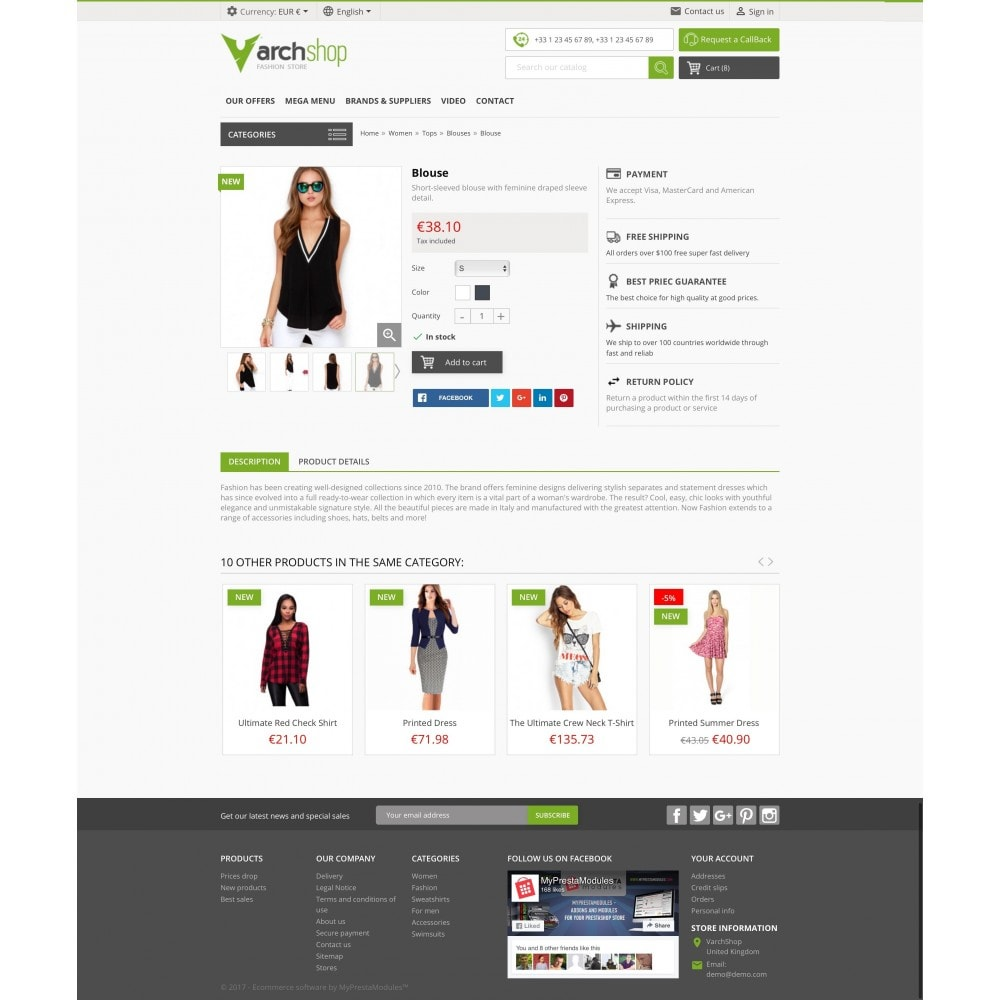 theme - Fashion & Shoes - Varchshop Lite - 5