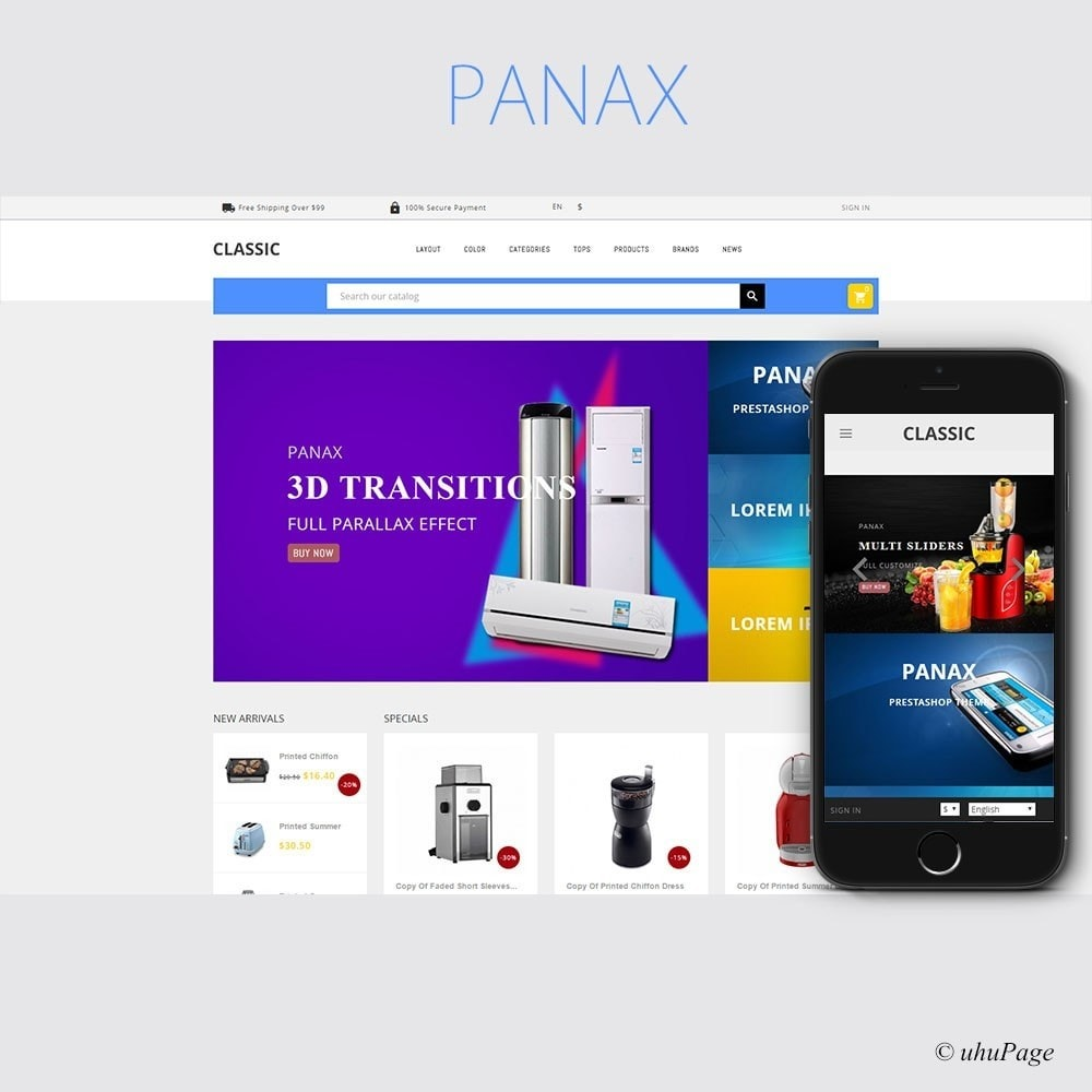 Panax Electronics Store