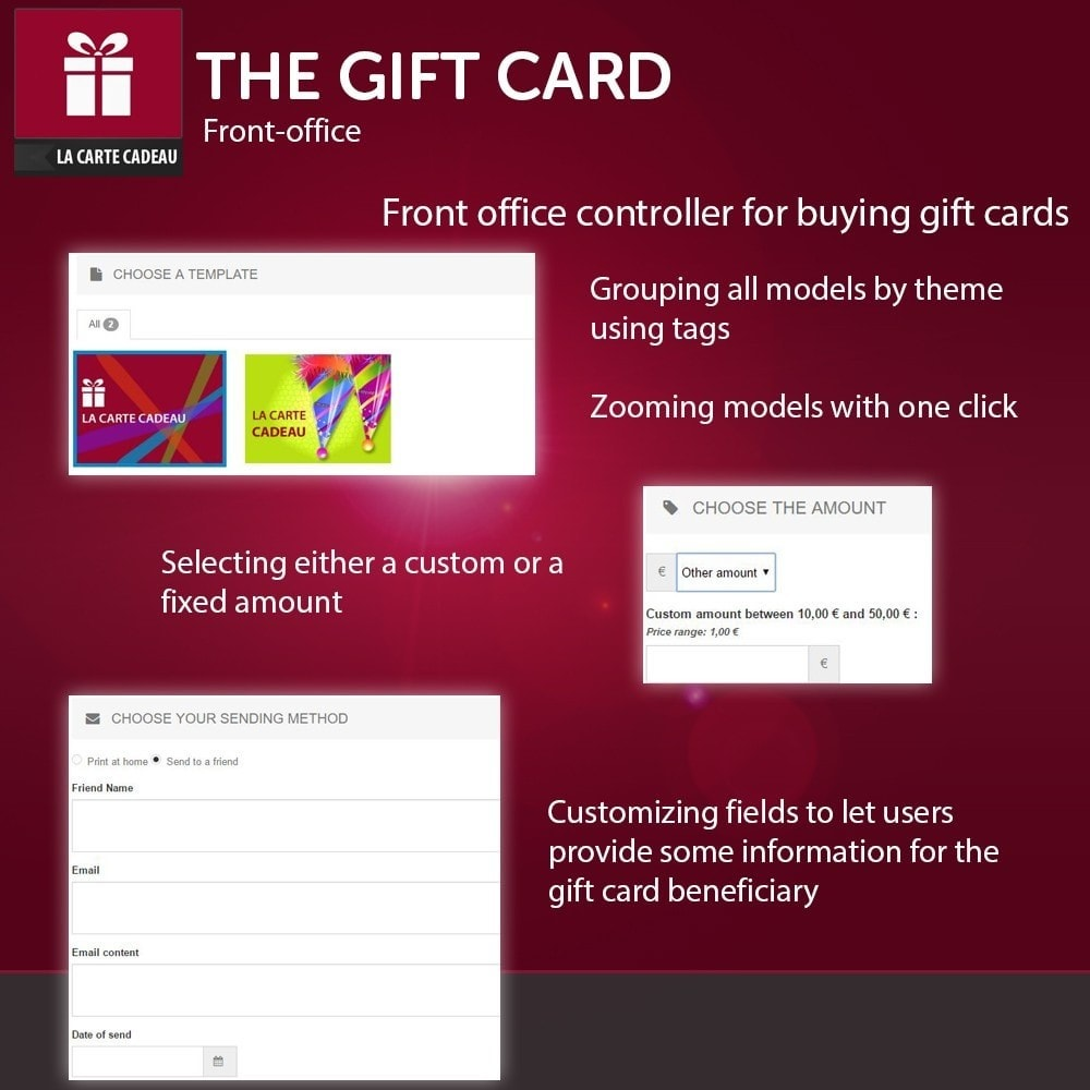 module - Whishlist & Gift Card - The Gift Card - 2