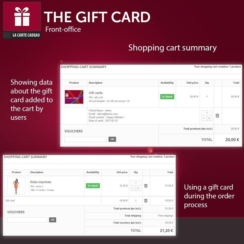module - Lista de deseos y Tarjeta regalo - The Gift Card - 3
