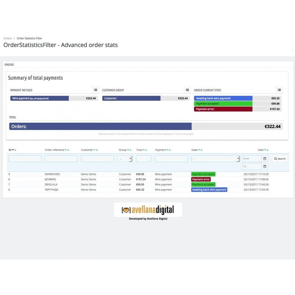 module - Análises & Estatísticas - Order statistics filter - 1