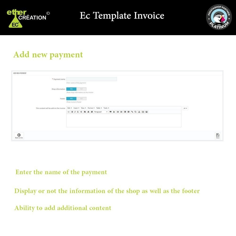module - Contabilità & Fatturazione - Manage invoices based on sales sources - 2